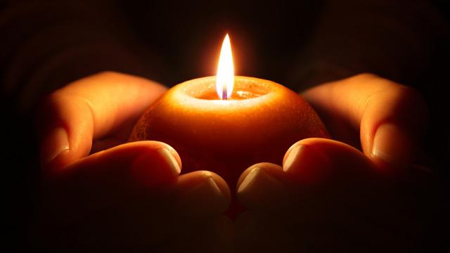 Kerze Hoffnung